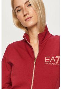 Bluza rozpinana EA7 Emporio Armani bez kaptura, z nadrukiem, na co dzień #5