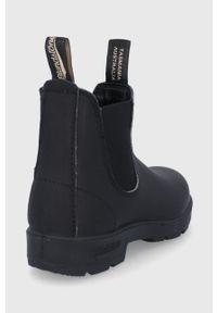 Blundstone - Sztyblety skórzane 510. Nosek buta: okrągły. Kolor: czarny. Materiał: skóra