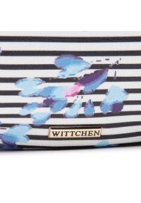 Wittchen - Saszetka nerka WITTCHEN - 92-4Y-307-X7 Biały Kolorowy. Kolor: biały. Materiał: skóra. Wzór: kolorowy