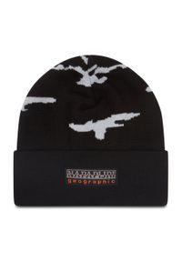 Czarna czapka zimowa Napapijri