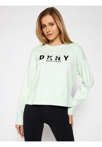 Zielona bluza DKNY Sport sportowa