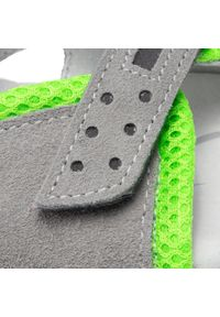 RenBut - Sandały RENBUT - 31-4425 Popiel Zielony. Kolor: szary. Materiał: skóra, zamsz. Sezon: lato. Styl: wakacyjny