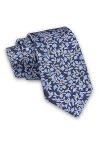 Niebieski krawat Alties elegancki
