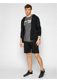 4f - 4F T-Shirt H4L21-TSM060 Szary Regular Fit. Kolor: szary