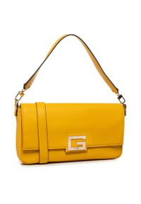 Żółta torebka klasyczna Guess klasyczna