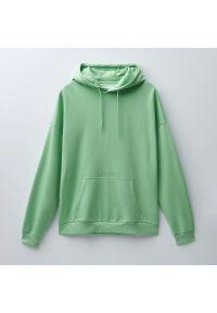 House - Bluza z kapturem i nadrukiem - Zielony. Typ kołnierza: kaptur. Kolor: zielony. Wzór: nadruk