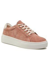 vagabond - Sneakersy VAGABOND - Zoe Plafo 4927-540-57 Dusty Pink. Okazja: na co dzień. Kolor: różowy. Materiał: zamsz, skóra. Szerokość cholewki: normalna. Sezon: lato. Styl: casual