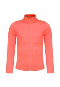 Pomarańczowa bluza Poivre Blanc z kontrastowym kołnierzykiem, sportowa
