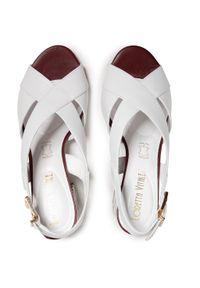Białe sandały Loretta Vitale