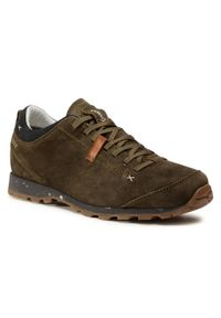 Zielone buty trekkingowe Aku Gore-Tex, trekkingowe, z cholewką