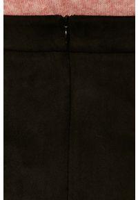 Czarna spódnica Vila na co dzień, casualowa