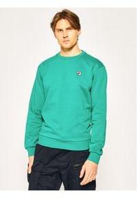 Fila Bluza Hector Crew 687457 Zielony Regular Fit. Kolor: zielony