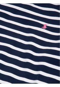 Niebieska sukienka Polo Ralph Lauren prosta, polo, casualowa, na co dzień