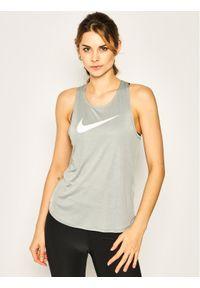 Szara koszulka sportowa Nike do biegania