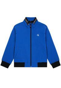 Niebieska kurtka przejściowa Calvin Klein Jeans