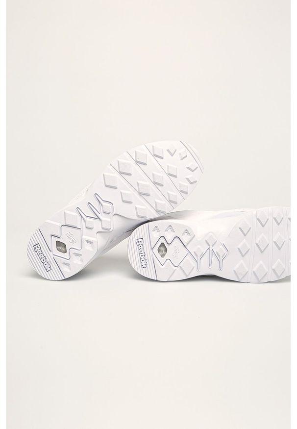 Białe buty sportowe Reebok Classic z cholewką, na sznurówki, Reebok Classic