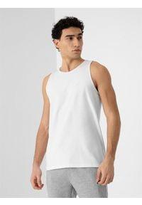 4f - Koszulka bez rękawów męska (2-pack). Kolor: wielokolorowy. Materiał: dzianina, bawełna. Długość rękawa: bez rękawów