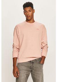Różowa bluza nierozpinana Levi's® z okrągłym kołnierzem, biznesowa