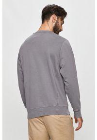 Szara bluza nierozpinana Pepe Jeans na co dzień, bez kaptura