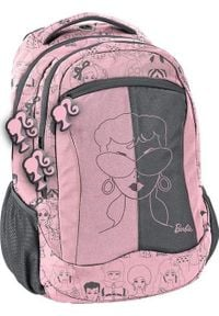 Paso Plecak szkolny Barbie różowy (BAM-2808). Kolor: różowy