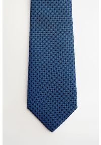 Niebieski krawat Mango Man #5