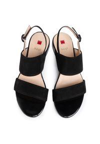 Czarne sandały HÖGL na co dzień, casualowe