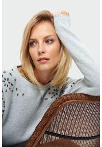 Szary sweter Greenpoint z aplikacjami #1