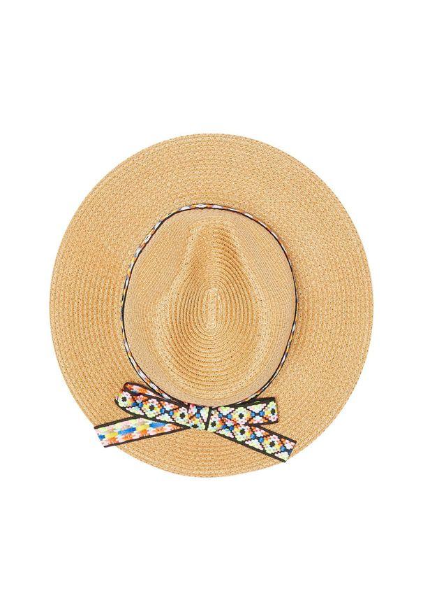 Żółty kapelusz MOODO