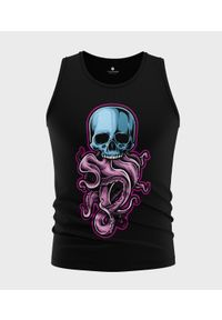 MegaKoszulki - Koszulka męska bez rękawów Tentacle Skull. Materiał: bawełna. Długość rękawa: bez rękawów