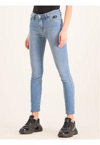 Niebieskie jeansy slim My Twin