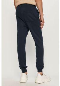 Niebieskie spodnie dresowe PRODUKT by Jack & Jones gładkie