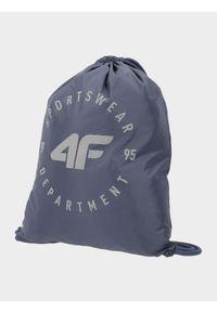 Niebieska torebka worek 4f