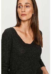 Szary sweter Haily's z długim rękawem, długi