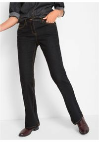 Czarne jeansy bonprix klasyczne