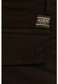 Czarne szorty Guess Jeans na co dzień, casualowe