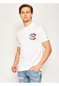 Biała koszulka polo Tommy Jeans polo #6