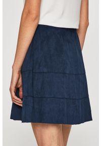 Niebieska spódnica Noisy may casualowa, na co dzień, z podwyższonym stanem