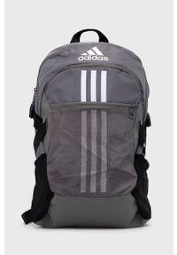 adidas Performance - Plecak. Kolor: szary. Materiał: materiał