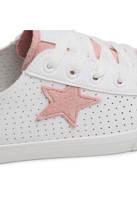 Białe półbuty Big-Star casualowe, na co dzień, z cholewką