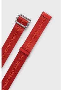 Karl Lagerfeld - Pasek. Kolor: czerwony