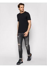 Jack & Jones - Jack&Jones T-Shirt Orrganic Basic 12156101 Czarny Slim Fit. Kolor: czarny