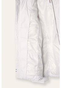 Biała kurtka TOMMY HILFIGER casualowa, na co dzień