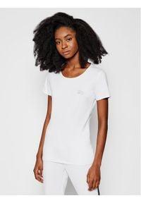 Liu Jo Sport T-Shirt TA1092 J5003 Biały Slim Fit. Kolor: biały. Styl: sportowy