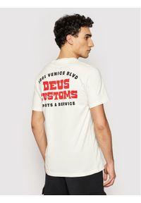 Deus Ex Machina T-Shirt Automatica DMP201826A Biały Regular Fit. Kolor: biały