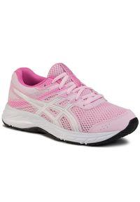 Różowe buty do biegania Asics