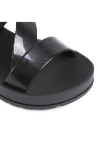 Czarne sandały zaxy na co dzień, sportowe