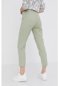 Answear Lab - Jeansy. Kolor: zielony. Styl: wakacyjny #3