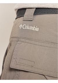 columbia - Columbia Szorty sportowe Silver Ridge II 1794931 Szary Regular Fit. Kolor: szary