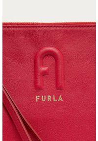 Czerwona kopertówka Furla