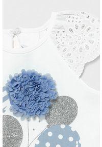 Niebieska sukienka Mayoral casualowa, z krótkim rękawem